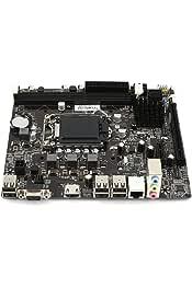 Cikuso 2pzs Soporte de Placa Trasera disipador de Calor de CPU para AMD LGA 1155 1150 Placa Base
