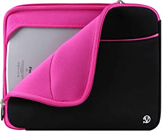 12 inch Ultrabook Notebook Carrying Protective Bag for LG G Pad X II 8.0 Plus, G Pad F2 8.0, U Plus Pad 8, Pink