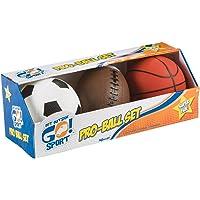 3-Pack Toysmith Get Outside GO! Pro-Ball Set