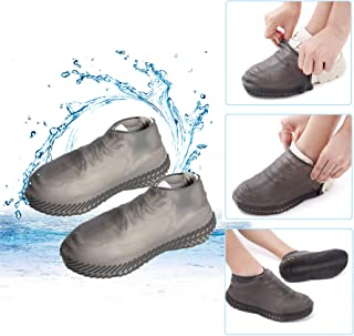 Waterproof Shoe Cover Reusable Silicone Shoe Covers Foldable Slip Cycling Outdoor Shoe Covers for Kids,Women,Men