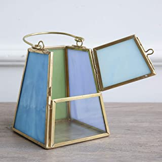 Best blue glass hurricane lamp Reviews