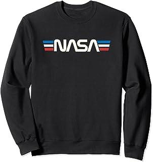 Badge spatial rétro vintage Astronomie NASA Sweatshirt
