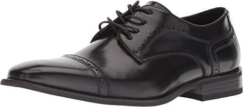 Unlisted by Kenneth Cole Hommes's Bryce LACE UP Oxford, noir, 12 M US