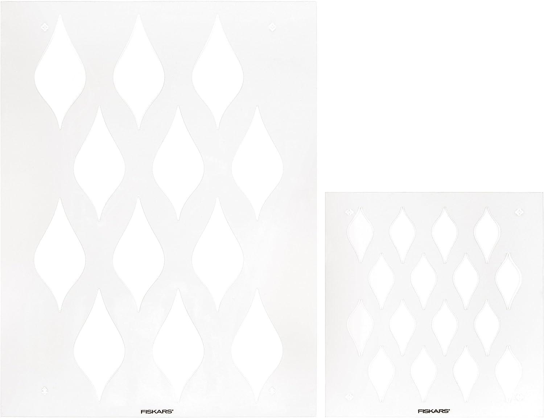 Fiskars Fiskars Fiskars Stencil Set 2 Pkg-Roped B0100HZPJI     | Modern Und Elegant  94bd25