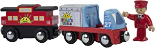 Ryan's World Ryan Conductor and Train with Engine and Caboose