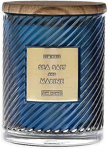 wholesale DW Home Elegance Spiral outlet sale Style (10 oz.) Candle online sale Jar (Sea Salt Marine) online