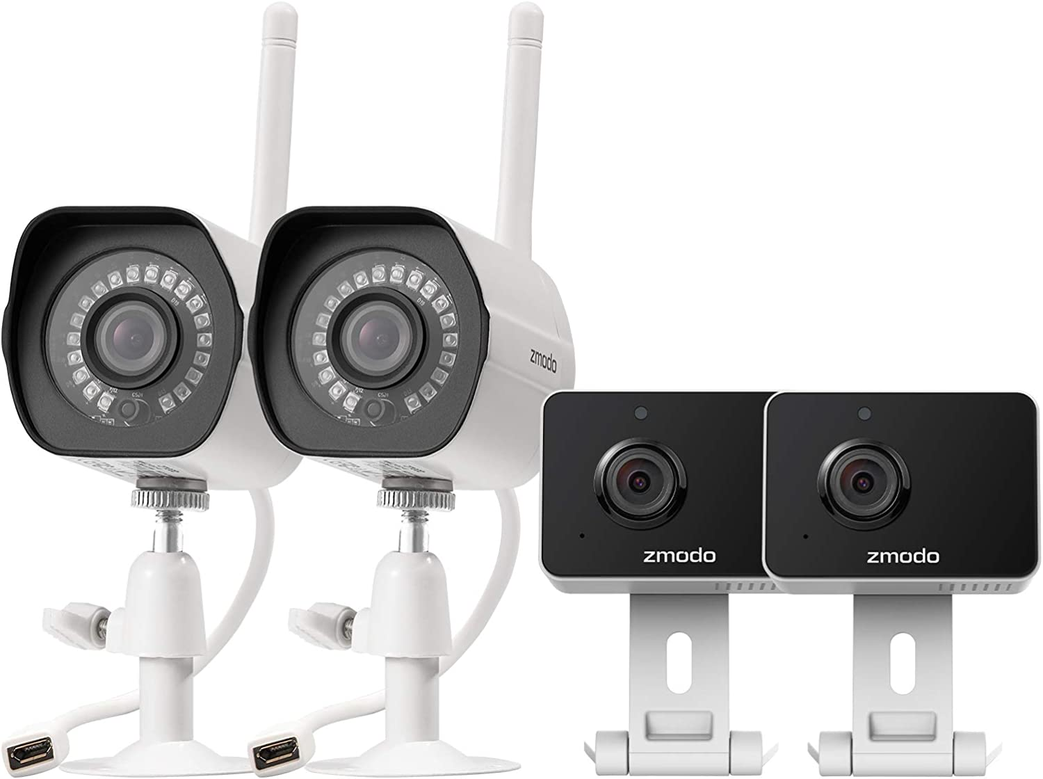 Zmodo Wireless Home Security Indoor & Outdoor Camera System