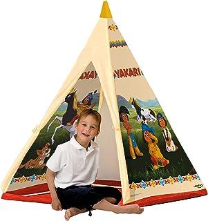 John 78607 – Yakari Tipi-tält – indiantält, wigwam, lektält, barntält, lekhus med tryckt motiv för barn