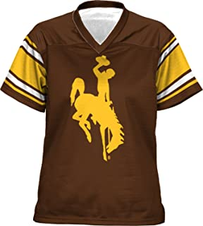 ProSphere University of Wyoming Women's Football Jersey (End Zone)