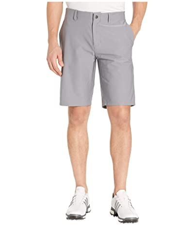 adidas Golf Ultimate365 3-Stripes Competition Shorts (Grey Three) Men