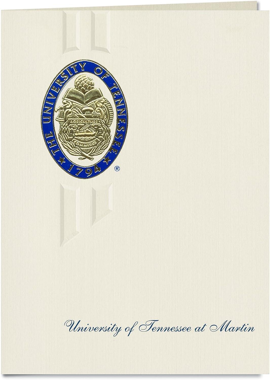 Signature Ankündigungen die University of Tennessee AT Martin Graduation Ankündigungen, eleganten Stil, Elite Pack 20 mit u. der tennessee-martin Dichtung Folie B0793K7VK6    Bestellungen Sind Willkommen