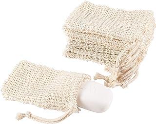 Madholly Exfoliating Soap Pouch Bag Soap Saver Soap Bags-8 pcs