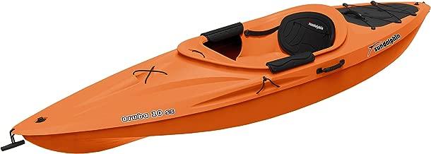 Sun Dolphin Aruba SS Sit-in Kayak, 10-Feet