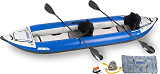 Sea Eagle Inflatable 420X Explorer Kayak Pro Carbon Package