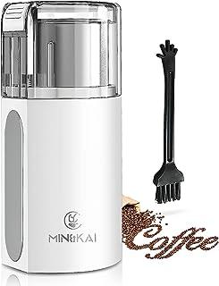 コーヒーミル 電動 ミル コーヒーミル. ワンタッチで急速挽くのコーヒーミル コーヒー豆 コーヒーミル ミルミキサー コーヒー粉 取り外し可能 コーヒーグラインダー ミルサー なステンレスのボウル付 ミル 水洗い 収納できるコード 過熱保護一台...