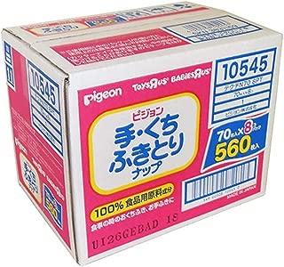 贝亲手部、易擦拭湿巾替换用70片装8包560张
