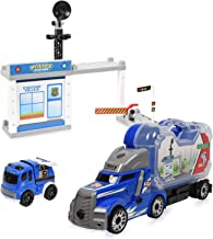 WolVol Take-A-Part Police Station - Police Headquarters Construction Playset with Screwdriver - Educational Toy for Kids & Children