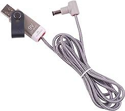MyVolts Ripcord-USB-Ladekabel mit 9V DC Ausgangsstecker kompatibel mit Walrus Audio Kangra Fuzz Effektpedal