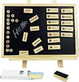 BINGHONG3 Lavagna Rettangolare in Legno da Appendere con messaggi lavagnetta per Bambini