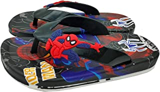 Mag Creations Kid's Flip-flops Slippers For Boys and Girls Multi Colour Black & Blue (1.5 Years to 7 Years)