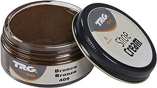 TRG Shoe Cream Rejuvenating Leather Care for Shoes Boots Metallic Colors, 1.7 fl.Oz (409 - Bronze)