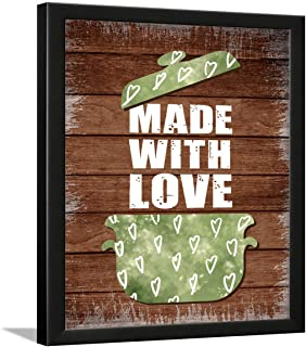 Chaka Chaundh - Kitchen Quotes Wall Frames - Dining Quotes Frame - Kitchen Quotes Framed Posters - Dining Table Quotes Fra...