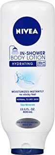 Nivea Body In-Shower Hydrating Body Lotion for Normal to Dry Skin, 13.5 Fluid Ounce