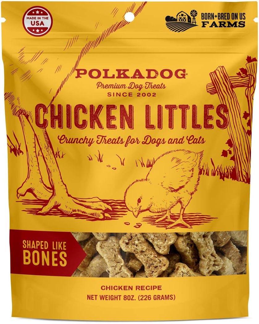 Polkadog Chicken Littles Bone Lowest price New item challenge Shaped Dog Snacks Cat Al Treats –