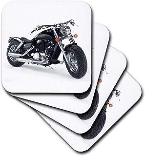 3dRose cst_ 4488_2 Coaster Picturing Harley-Davidson No.174 Motorcycle