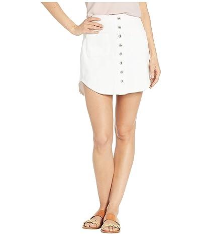 BB Dakota Take Me Out Skirt (Optic White) Women