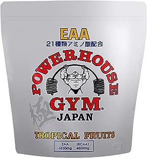 【公式販売店】POWERHOUSE GYM アミノ酸21種類 EAA トロピカルフルーツ 極ボディ NPCJ公認