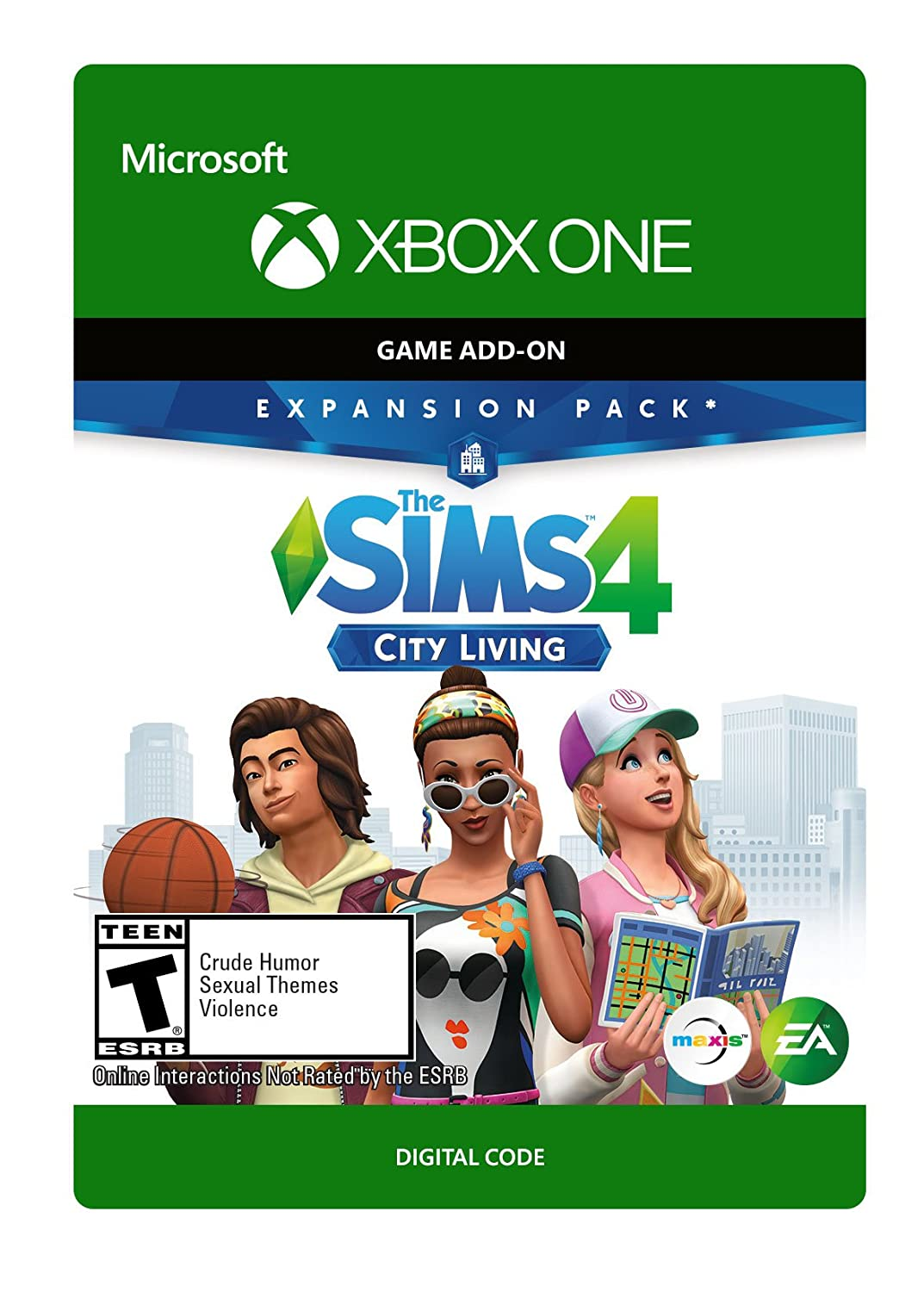 The Sims 4 - City One Limited price sale Code Digital Living Xbox Latest item