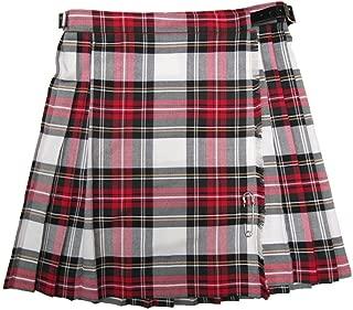 Glen Appin Girls Pleated Tartan Kilt Skirts