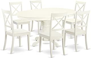 ab3de5f594d Amazon.com  Oval - Table   Chair Sets   Kitchen   Dining Room ...