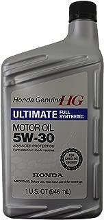 Honda Genuine 08798-9039 Full Synthetic Oil