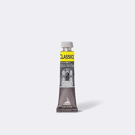 MAIMERI CLASSICO 20 ml, colore ad olio d'artista extra fine, colore giallo cadmio chiaro