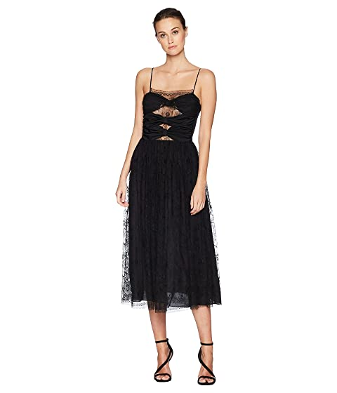 Adam Lippes Silk Crepe Cami Dress w/ Knotted Bodice