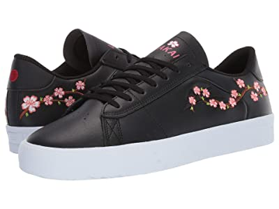 Lakai Newport X Nico Cherry Blossom (Black Leather) Men