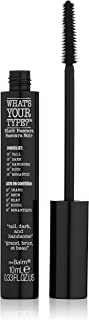 The Balm What's Your Type Mascara, Tall Dark and Handsome Lengthening Black, .2 Ounce
