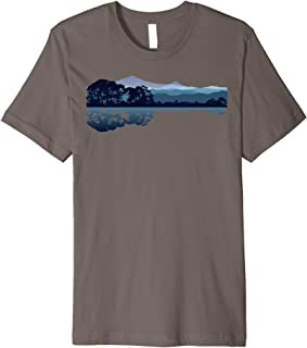 Nature Guitar Shirt   Cute Music Environment Lovers Tee Gift