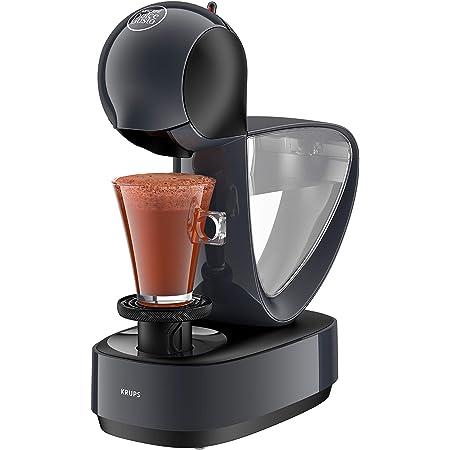 Krups Nescafé Dolce Gusto Infinissima KP173B Machine à café à capsule (pour boissons chaudes et froides, pression de pompe 15 bar, dosage manuel, réservoir d'eau 1,2 l, arrêt automatique) Cosmic Grey