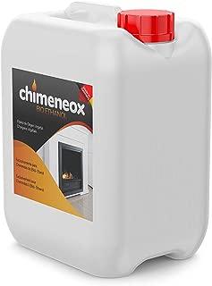 5L Bioetanol 96% origen Vegetal para chimeneas - Combustión de alta calidad no humos