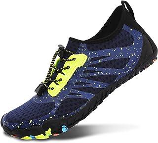 کفش ورزشی پیاده روی مردانه L-RUN کفش مردانه برهنه Aqua کفش پیاده روی شنا