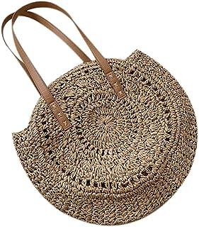 Amazon.es: bolsos de fibras naturales - Bolsos para mujer ...