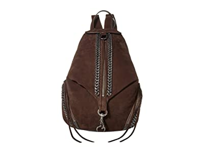 Rebecca Minkoff Julian Backpack w/ Chain Inset (Ganache) Backpack Bags
