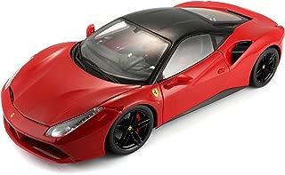 Carro Burago 1. 18 Ferrari Signature Series Ferrari Modelo 488 GTB Maisto Vermelho