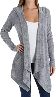Women's Thermal Wrap Hooded Cardigan