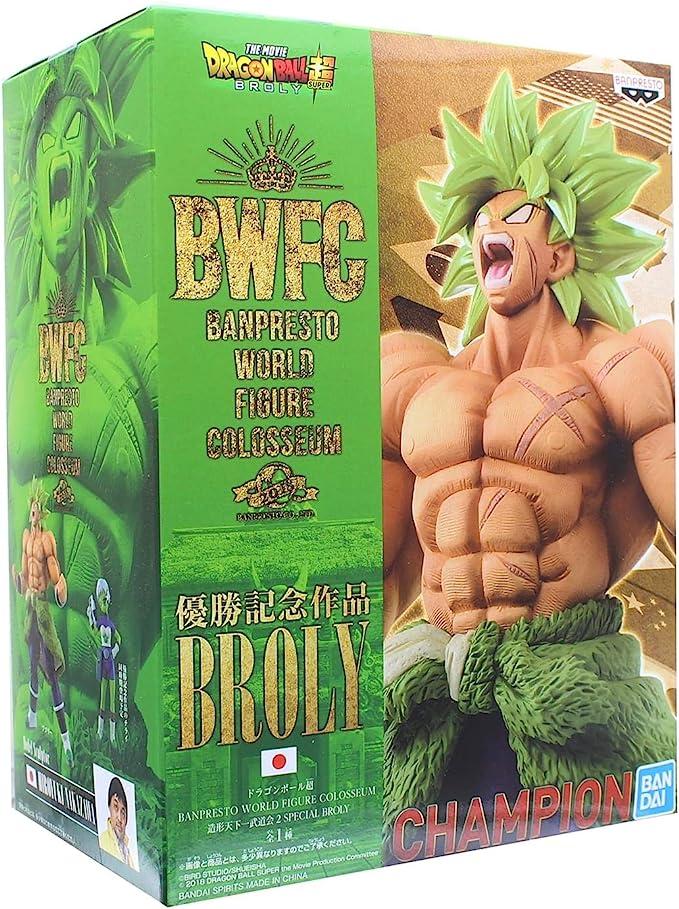 Banpresto-BP39945 Dragon Ball Z, Figura de Acción, Colosseum 2 Super Broly (Bandai BP39945)