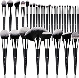 DUcare Makeup Brush Set 32Pcs Professional Makeup Brushes Christmas Gift Premium Synthetic Kabuki Foundation Blending Brus...