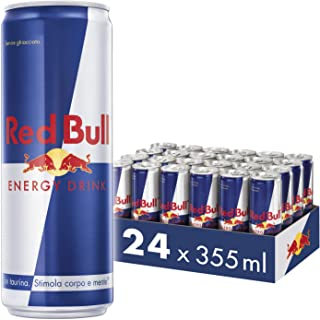 Red Bull Energy Drink, 355 ml, (24 Pack)